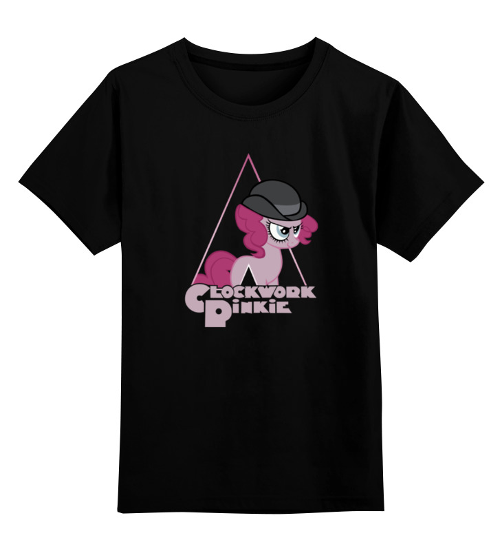 Детская футболка классическая унисекс Printio clockwork pinkie лонгслив printio clockwork pinkie