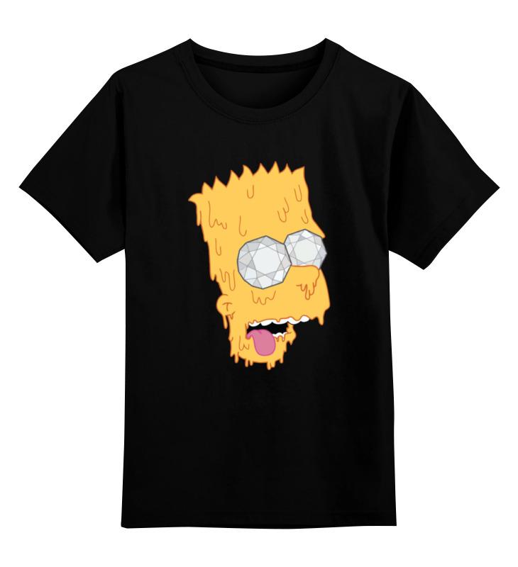 Детская футболка классическая унисекс Printio Барт симпсон bartholomew