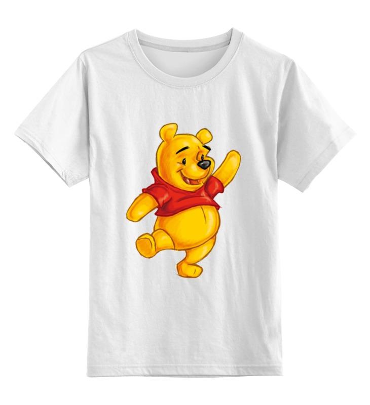 Детская футболка классическая унисекс Printio Винни пух окт кресло в ваннуокт disney винни пух нескольз желтый