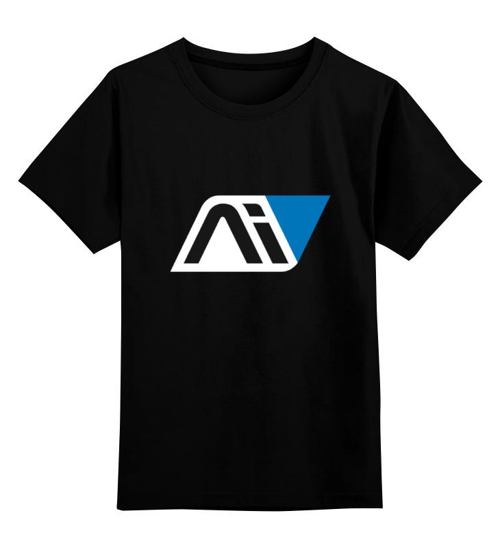 Детская футболка классическая унисекс Printio Mass effect andromeda кепка printio mass effect andromeda