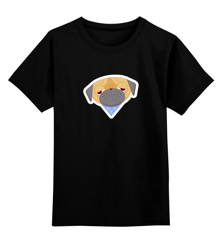 Детская футболка классическая унисекс Printio Печальный мопс детская футболка классическая унисекс printio doсtor moreau