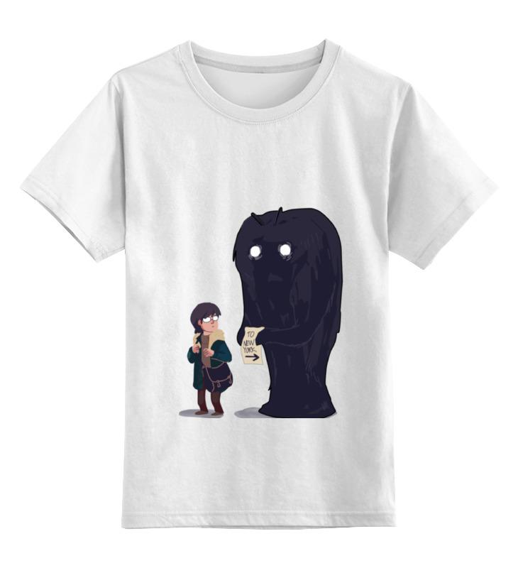 цена на Детская футболка классическая унисекс Printio To new york