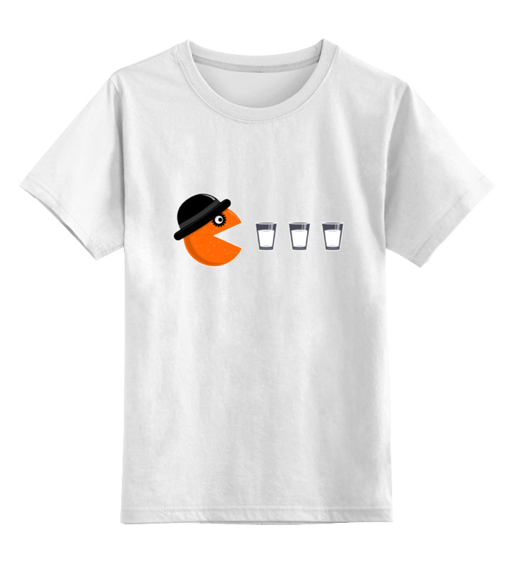 Детская футболка классическая унисекс Printio Заводной апельсин (a clockwork orange) майка классическая printio заводной апельсин a clockwork orange