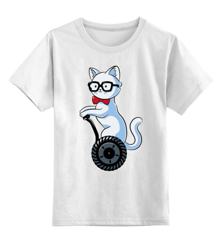 Детская футболка классическая унисекс Printio Котик