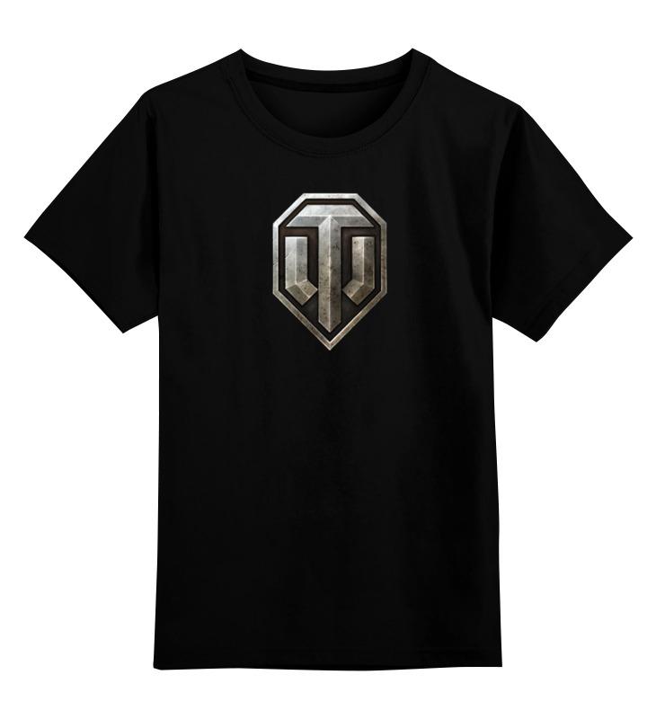 Детская футболка классическая унисекс Printio World of tanks