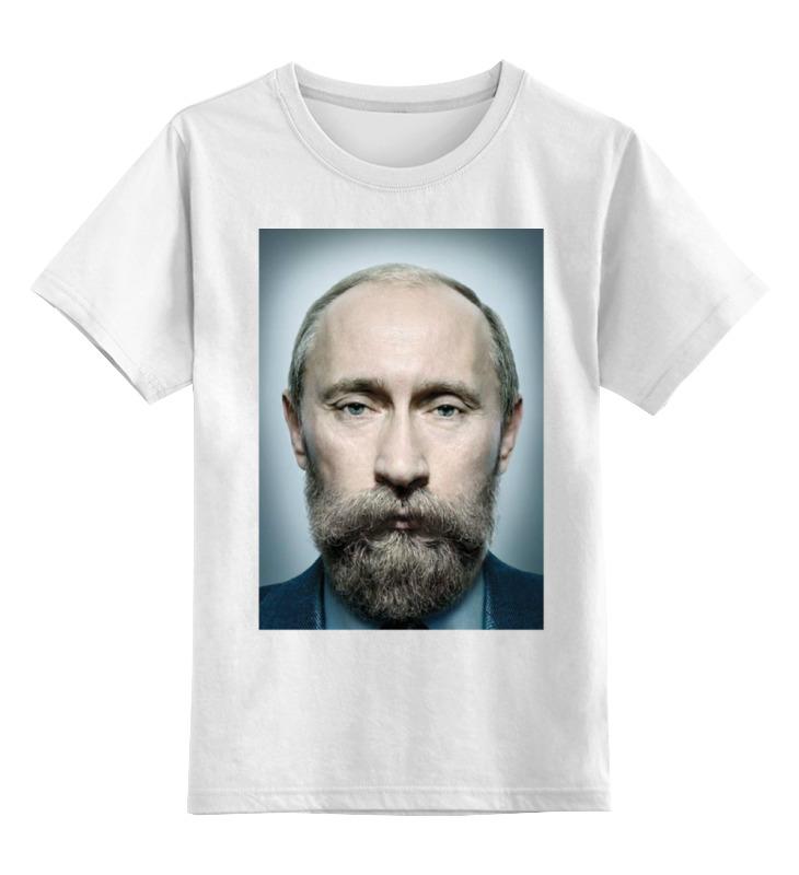 Детская футболка классическая унисекс Printio Путинизм николай углов путинизм в