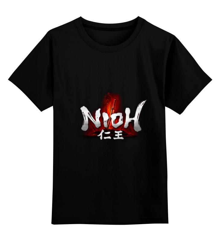 Детская футболка классическая унисекс Printio Nioh