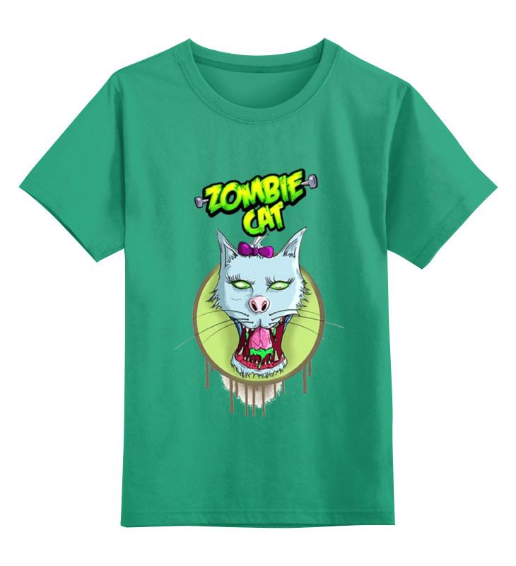 Детская футболка классическая унисекс Printio Zombie cat детская футболка классическая унисекс printio zombie music