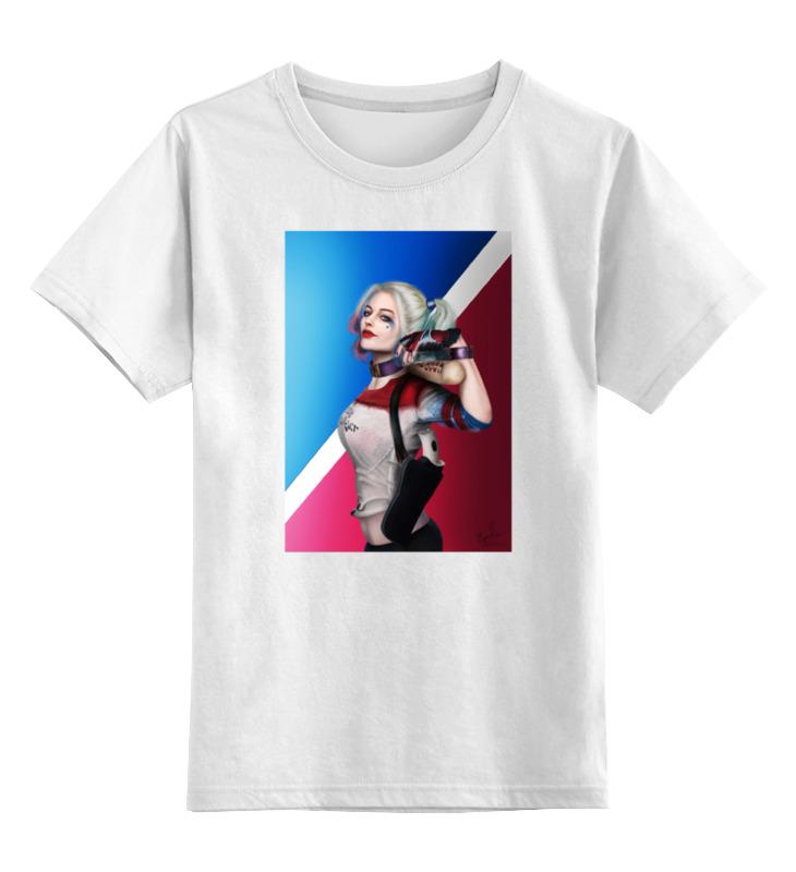 Детская футболка классическая унисекс Printio Харли квинн детская футболка классическая унисекс printio doсtor moreau