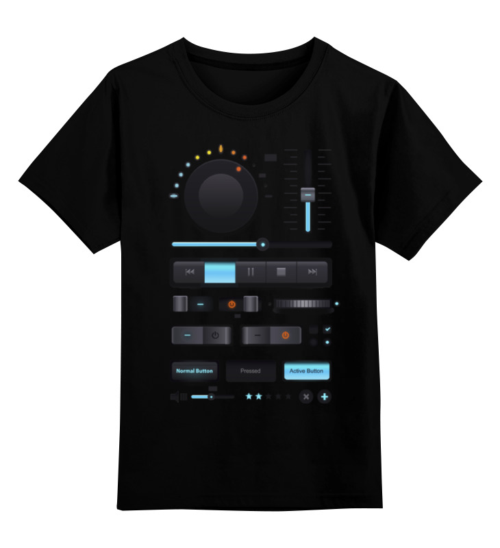 Детская футболка классическая унисекс Printio Магнитофон, плеер сумка printio магнитофон