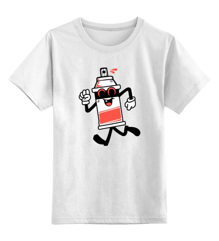 Детская футболка классическая унисекс Printio Балончик с краской