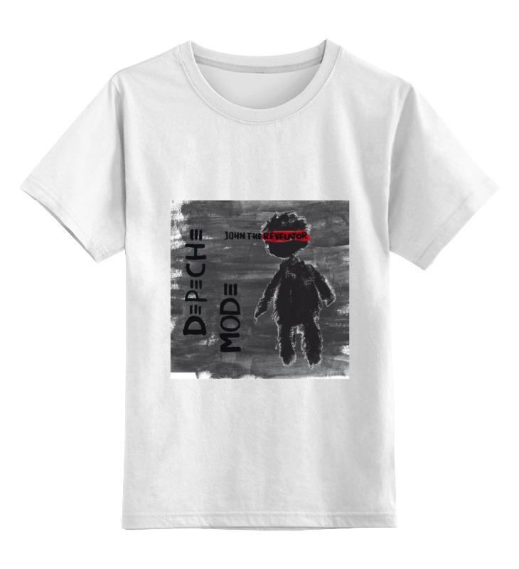 Детская футболка классическая унисекс Printio Depeche mode depeche mode – spirit cd
