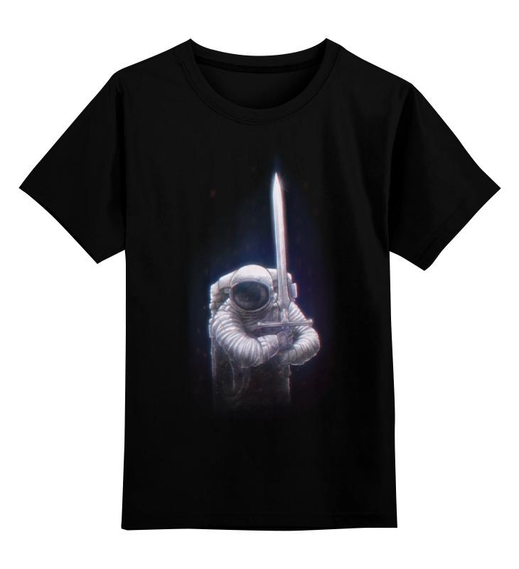 Детская футболка классическая унисекс Printio Космический рыцарь детская футболка классическая унисекс printio мотобайк