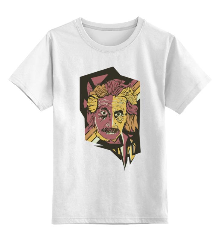 Детская футболка классическая унисекс Printio Альберт эйнштейн книги феникс так говорил альберт эйнштейн