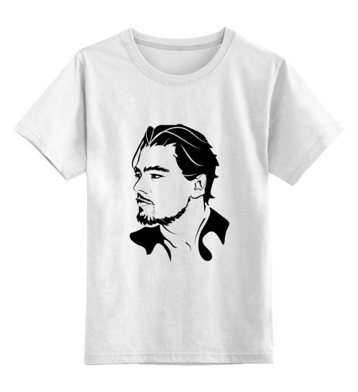 Детская футболка классическая унисекс Printio Леонардо ди каприо лина ди открой