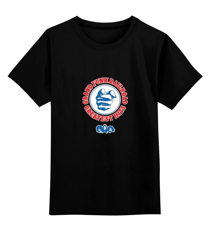 Детская футболка классическая унисекс Printio grand funk railroad ausini building blocks locomotive train railroad conveyance 25111 1008pcs compatible with lego sluban