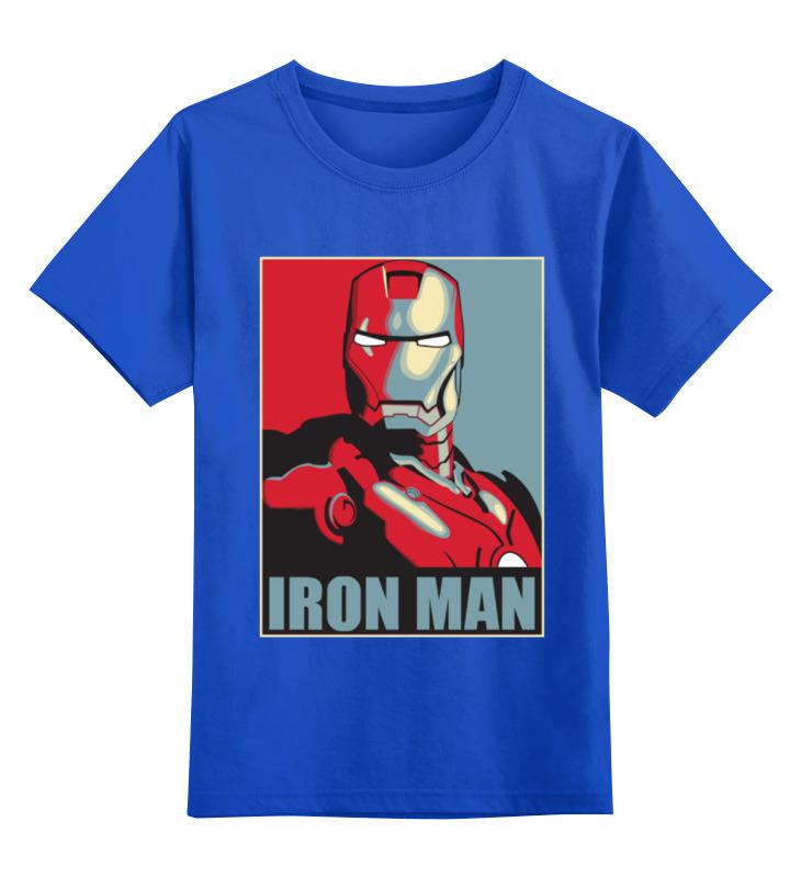 Детская футболка классическая унисекс Printio Iron man детская футболка классическая унисекс printio bugs bunny man