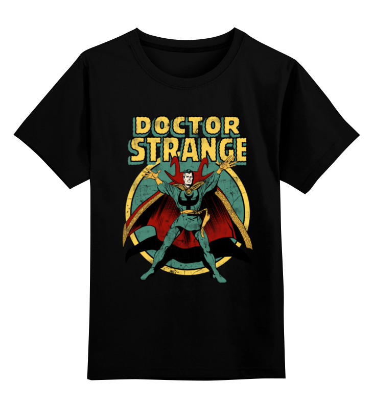 Детская футболка классическая унисекс Printio Доктор стрэндж футболка wearcraft premium printio доктор стрэндж