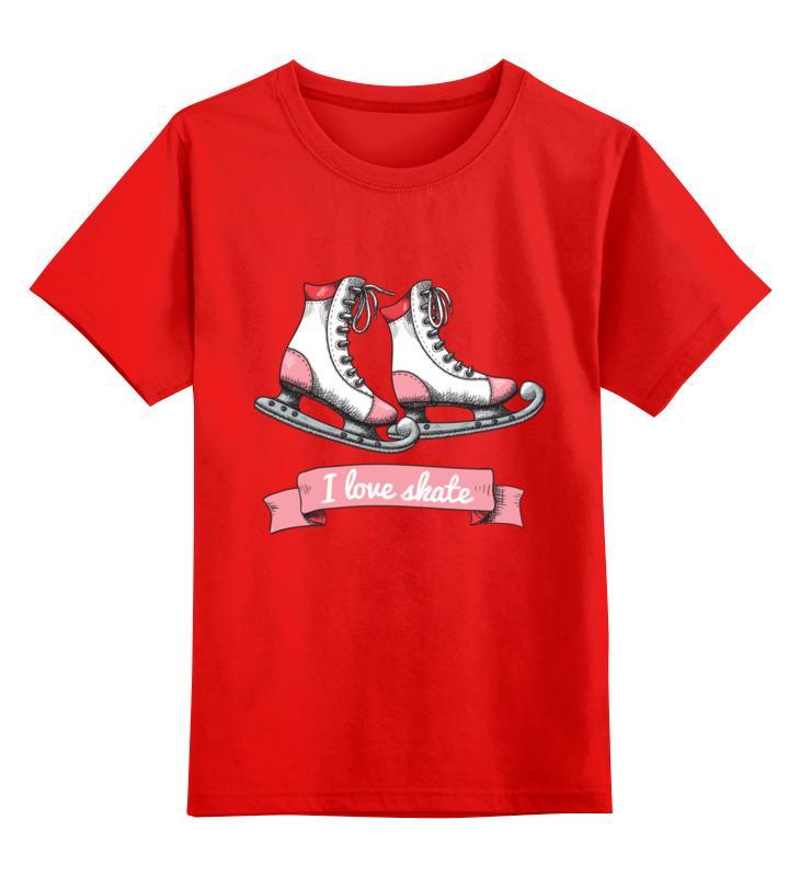 Детская футболка классическая унисекс Printio Коньки детская футболка классическая унисекс printio зимние забавы