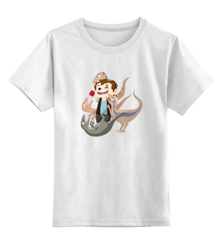 Детская футболка классическая унисекс Printio Мир юрского периода