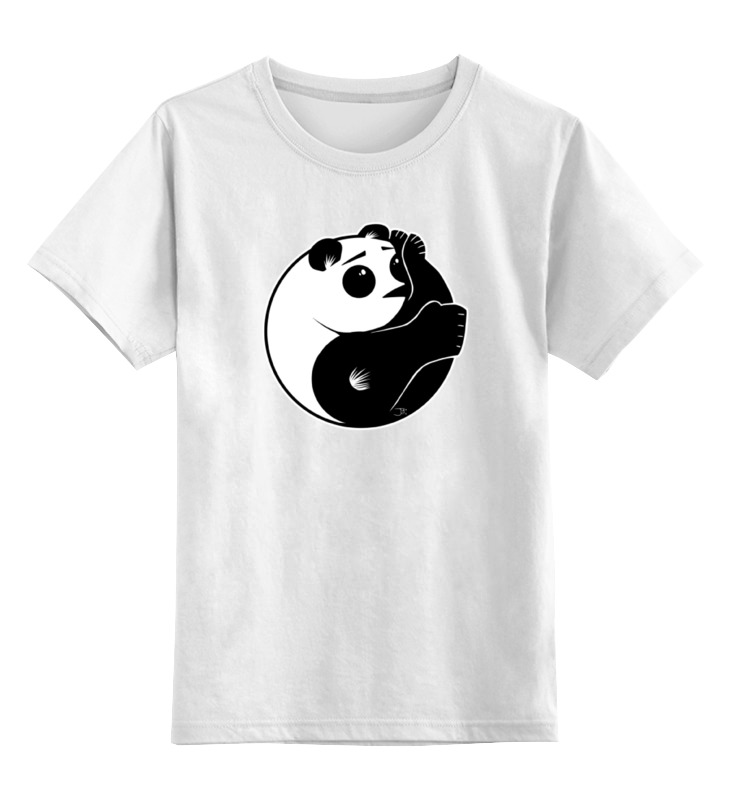 Детская футболка классическая унисекс Printio Панда (panda) детская футболка классическая унисекс printio панда panda