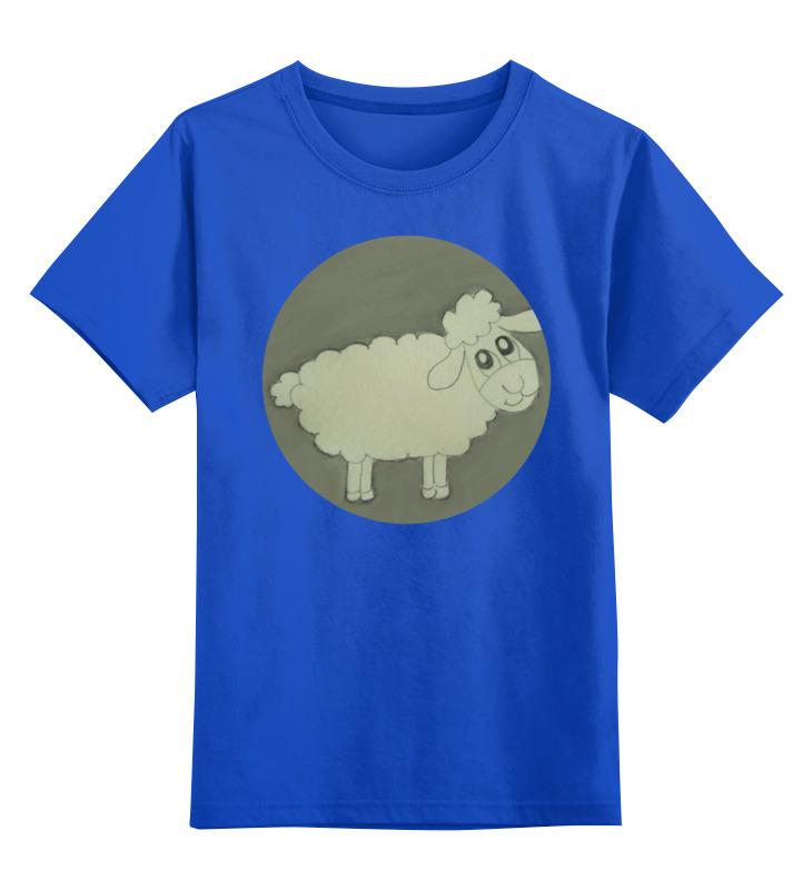 цена на Детская футболка классическая унисекс Printio Детская овечка