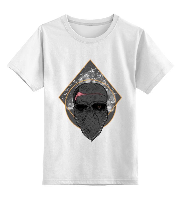 Детская футболка классическая унисекс Printio The kingdom of skulls