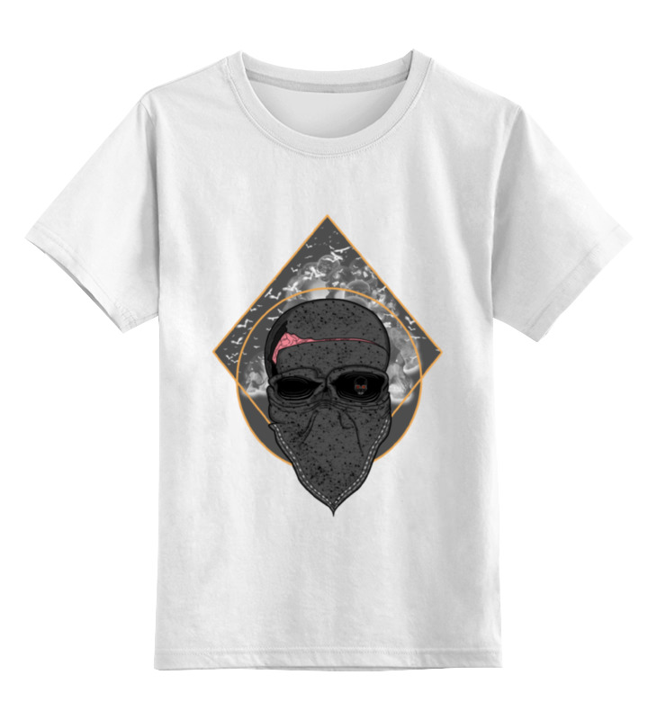 Детская футболка классическая унисекс Printio The kingdom of skulls the synthetic kingdom
