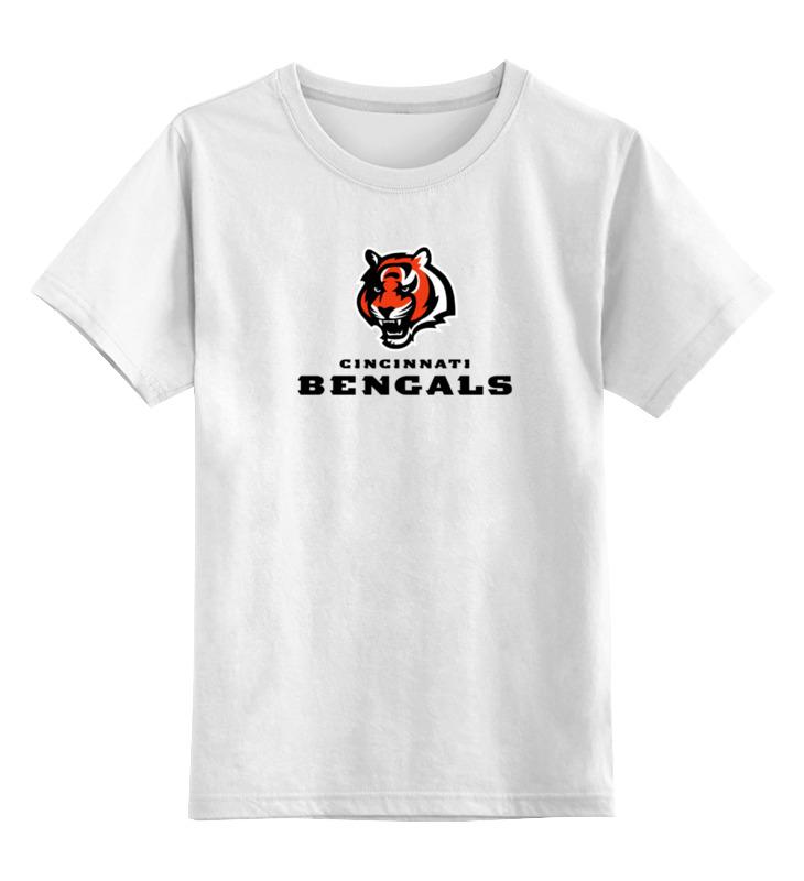 Детская футболка классическая унисекс Printio Cincinnati bengals футболка для футбола