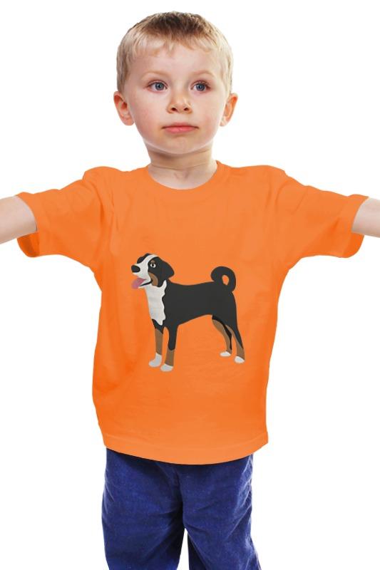 Детская футболка классическая унисекс Printio Собака детская футболка классическая унисекс printio мачете