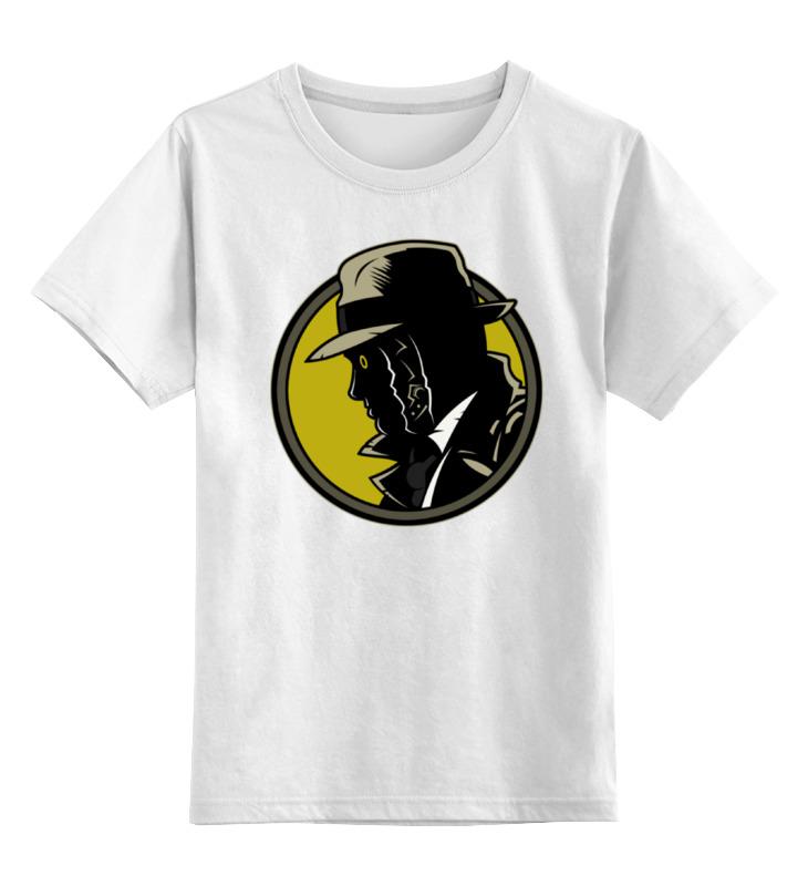 Детская футболка классическая унисекс Printio Дик трэйси футболка рингер printio дик трэйси