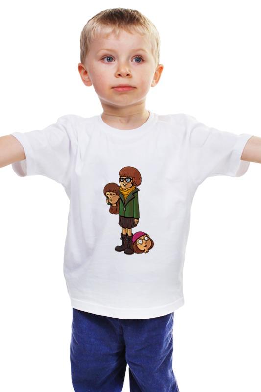 Детская футболка классическая унисекс Printio Велма