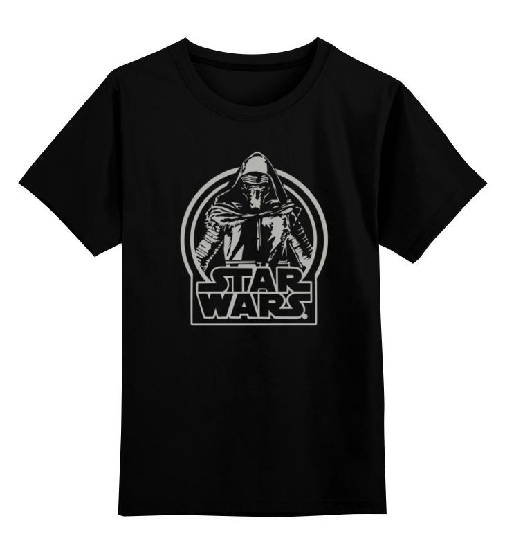 Детская футболка классическая унисекс Printio Kylo ren star wars
