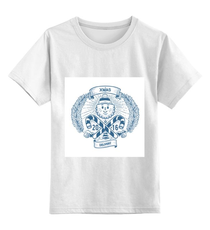 Детская футболка классическая унисекс Printio Xmas 2016 цены онлайн