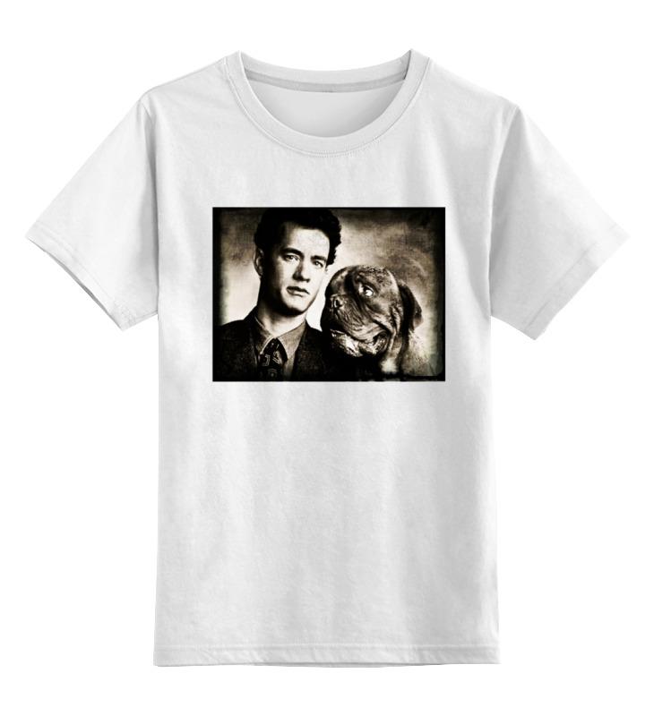 цена на Детская футболка классическая унисекс Printio Тёрнер и хуч