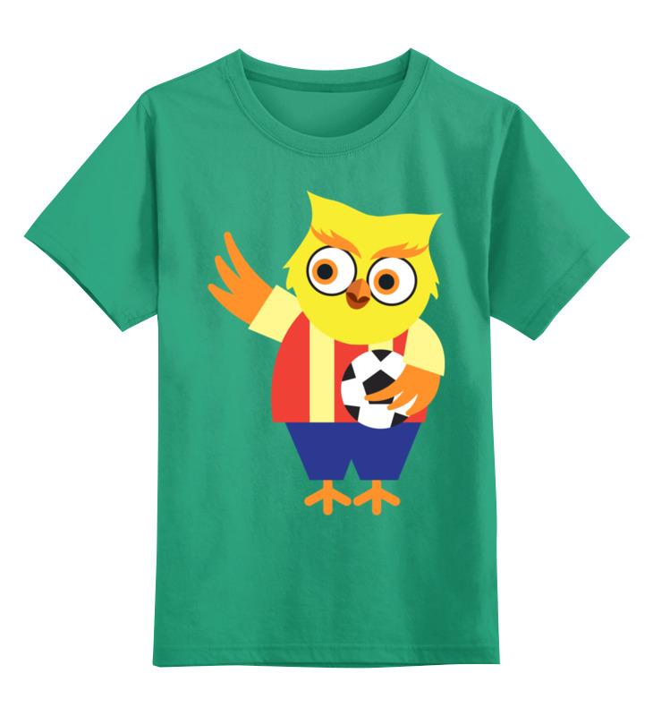 Printio Сова - футболист детская футболка классическая унисекс printio сова в цветах