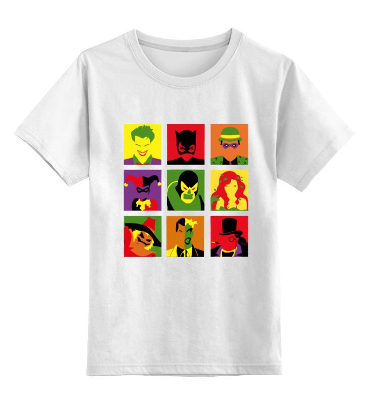 Детская футболка классическая унисекс Printio Batman pop art детская футболка классическая унисекс printio pop art i can see the whole room