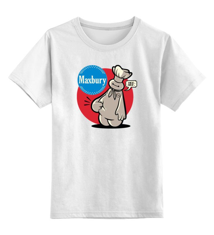 Детская футболка классическая унисекс Printio Баймакс (повар) футболка классическая printio супер повар