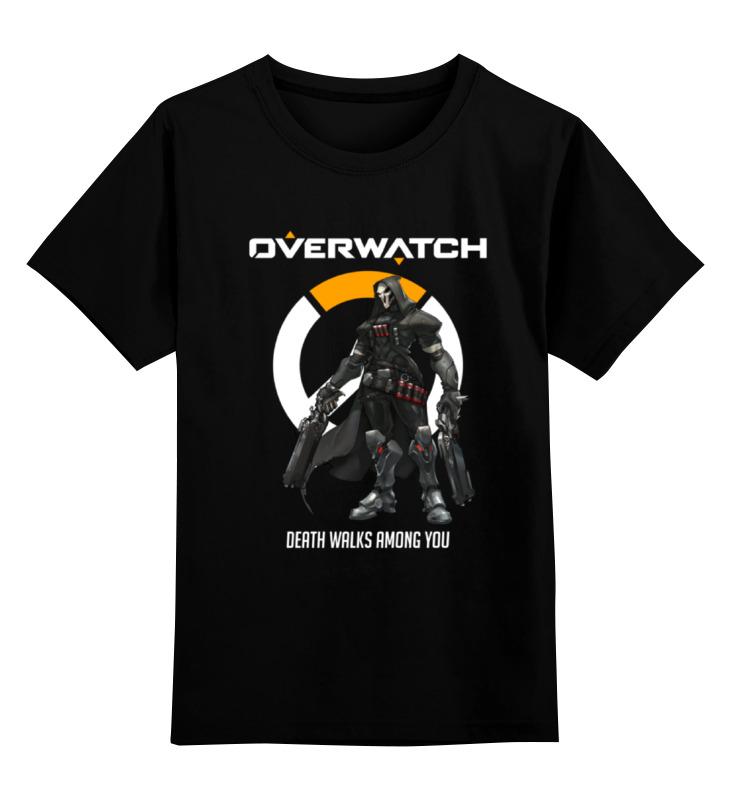 Printio Overwatch. жнец детская футболка классическая унисекс printio overwatch