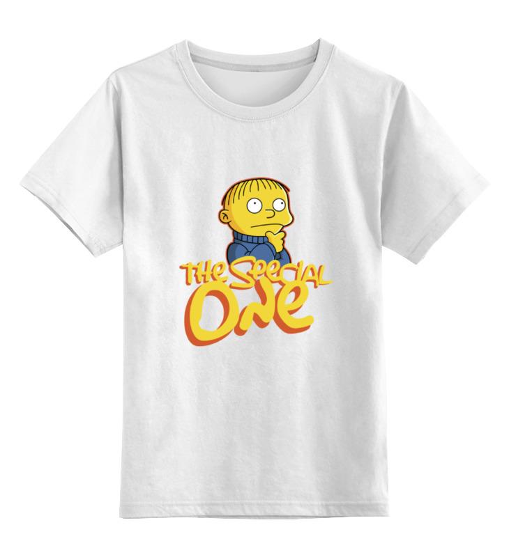 Детская футболка классическая унисекс Printio Ральф - особенный моуриньо особенный