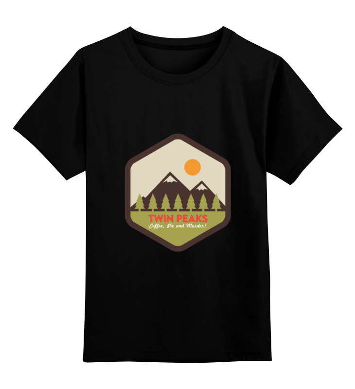 Детская футболка классическая унисекс Printio Твин пикс футболка классическая printio fbi фбр