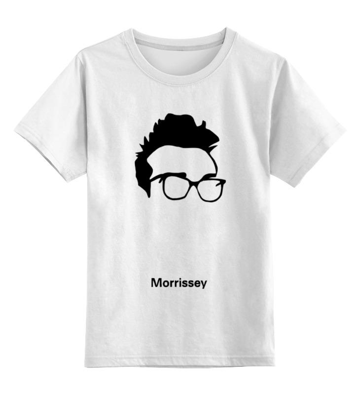 Детская футболка классическая унисекс Printio Моррисси
