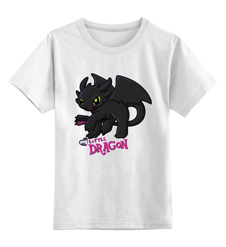Детская футболка классическая унисекс Printio Ночная фурия цена и фото