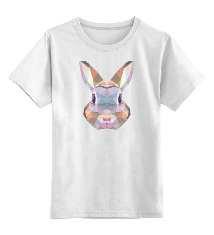 Детская футболка классическая унисекс Printio Полигональный кролик футболка классическая printio кролик