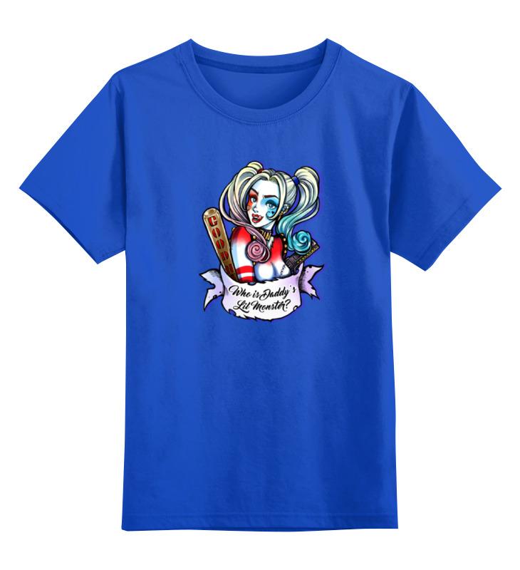 Детская футболка классическая унисекс Printio Харли квинн футболка классическая printio харли квинн