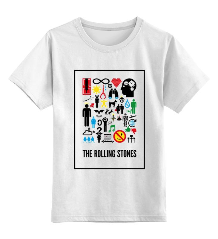Детская футболка классическая унисекс Printio Рок цена и фото