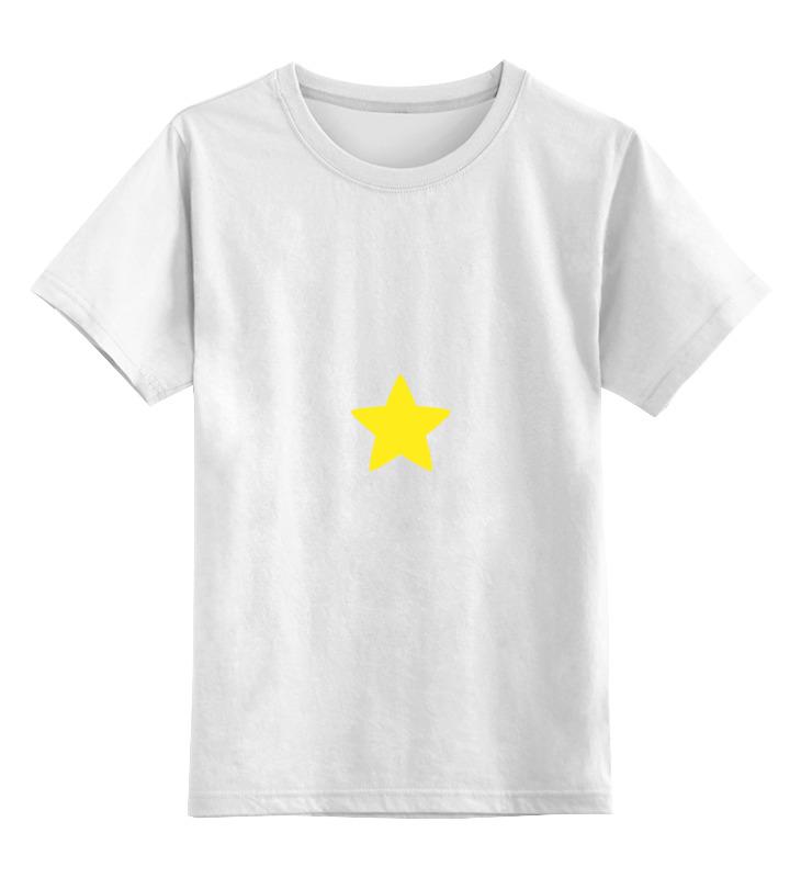 Детская футболка классическая унисекс Printio Steven universe 2 носки steven цвет белый 007 ld1 размер 44 46