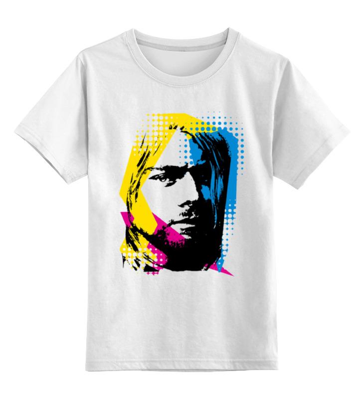 Детская футболка классическая унисекс Printio Nirvana kurt cobain