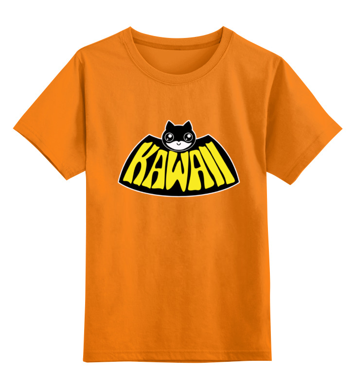 Детская футболка классическая унисекс Printio Kawaii x batman лонгслив printio kawaii x batman