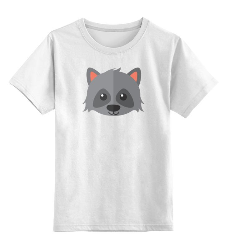 Printio Милый енот детская футболка классическая унисекс printio милый енот